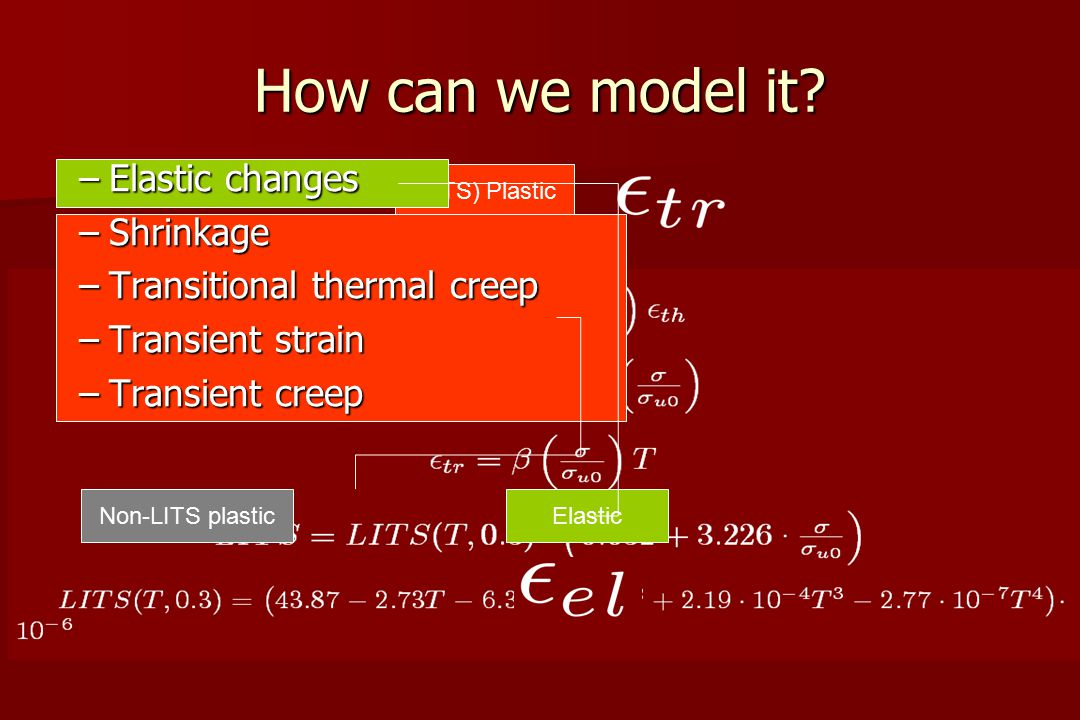 How can we model it.