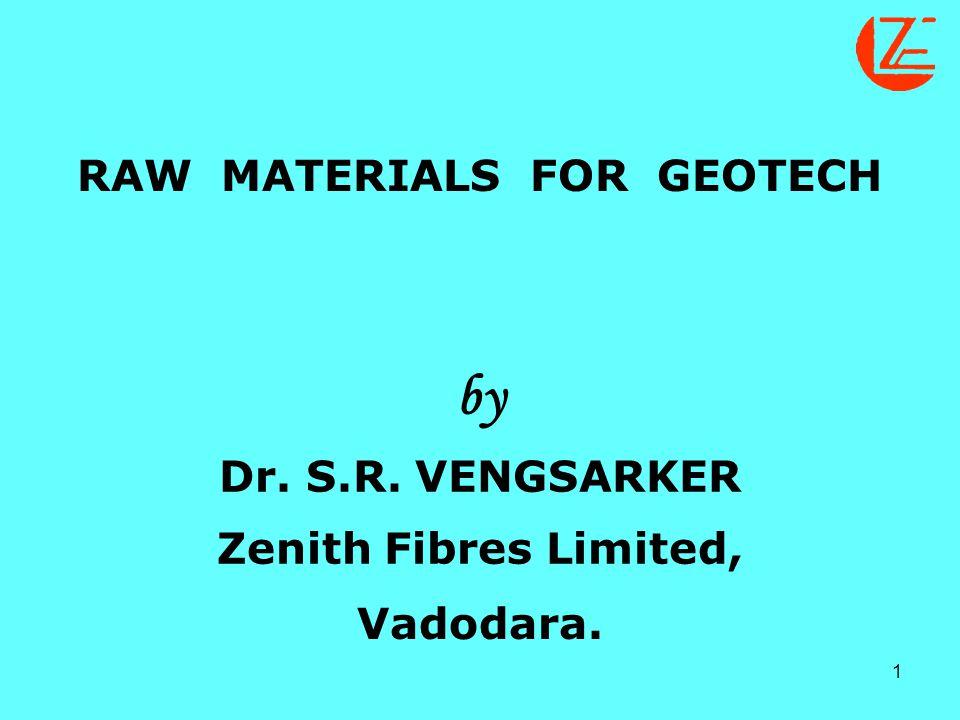 2 ABOUT ZENITH FIBRES LID., Located Near Vadodara, Gujarat State Fibre Type : Polypropylene Staple Fibre Capacity : 350 tonnes/month Fibre Denier Range : 1.5 to 110 Denier Fibre Denier Range : 6mm to 150mm