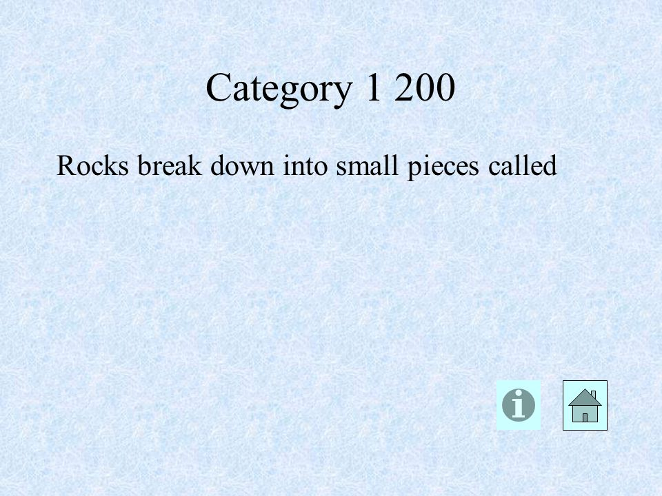 Category 1 200 sediments