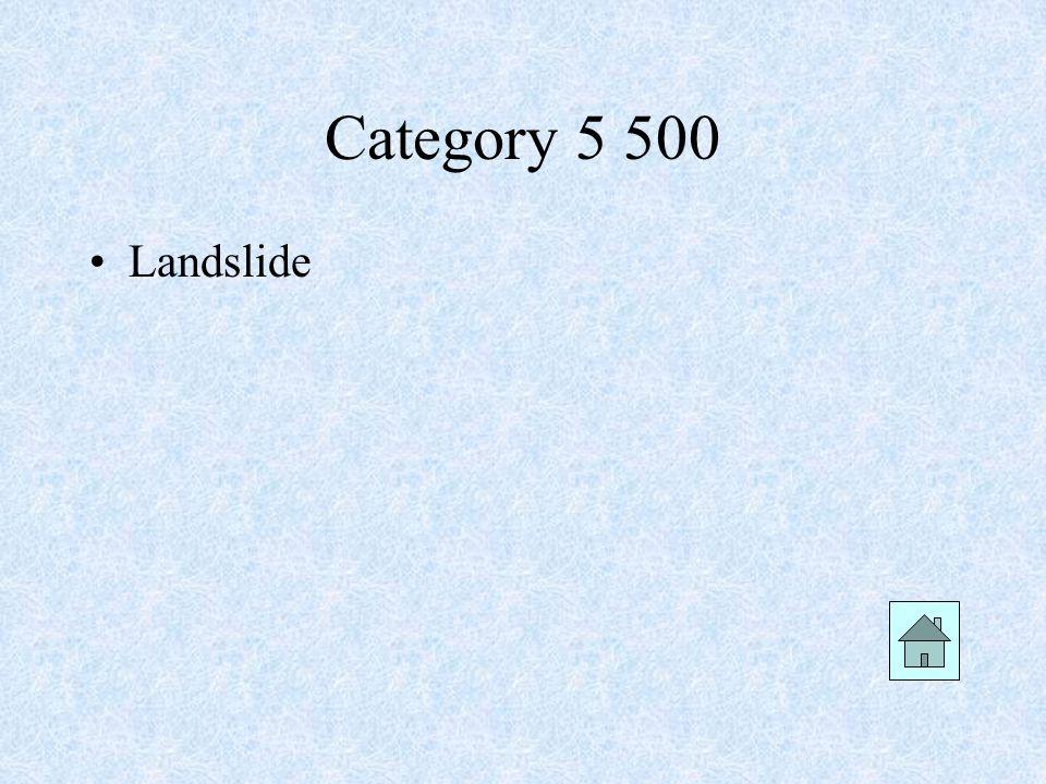 Category 5 500 Landslide