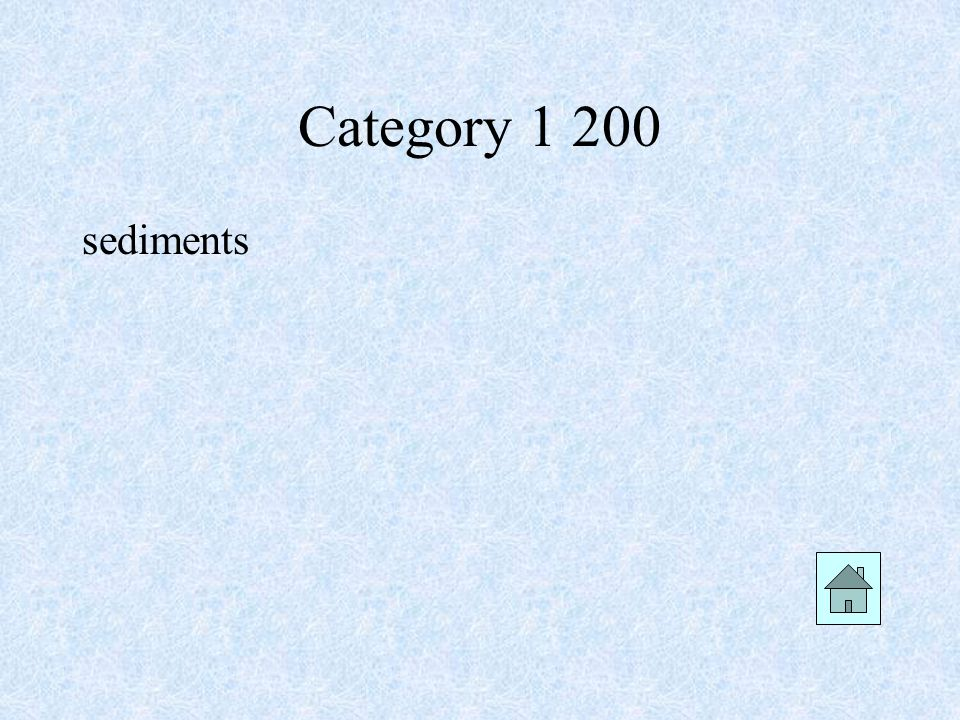 Category 1 300 Plants and ice wedging are examples of which type of weathering?