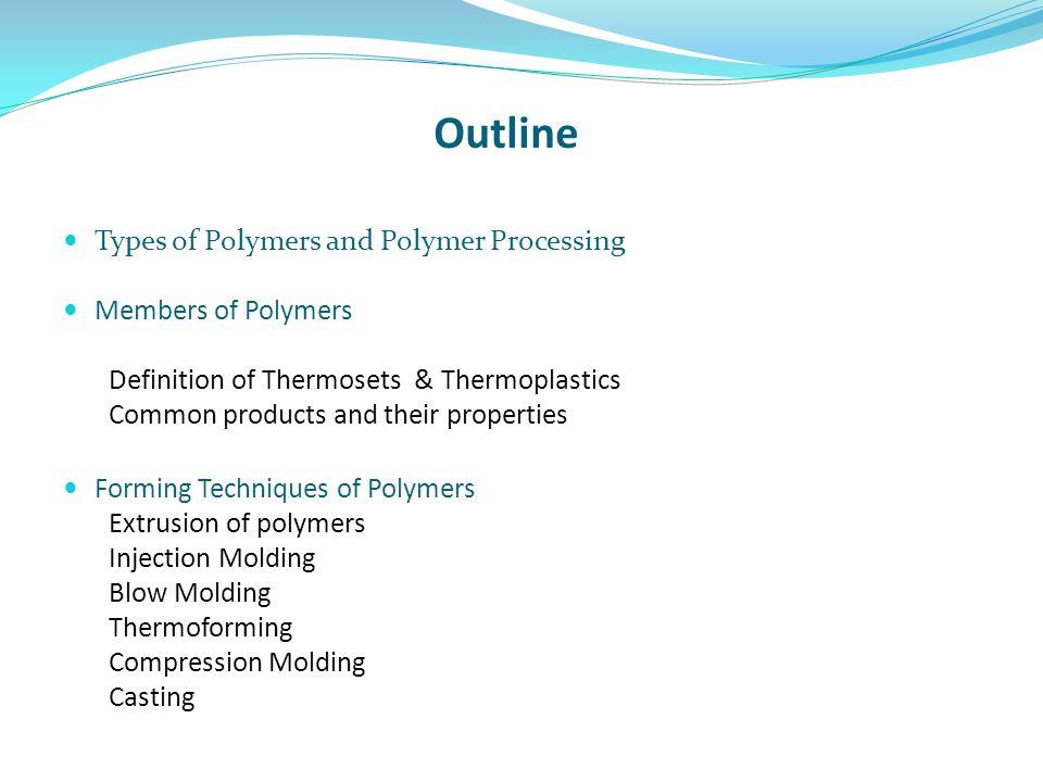 REFERENCES  J.A.Brydson, Plastics Materials, 7 th ed., Heinemann  William D.