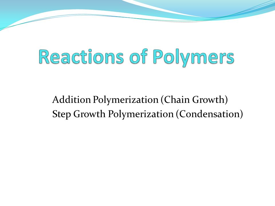 Polymer cristallinity Crystallinity influences: Hardness,modulus tensile, stiffness, crease, melting point of polymers.