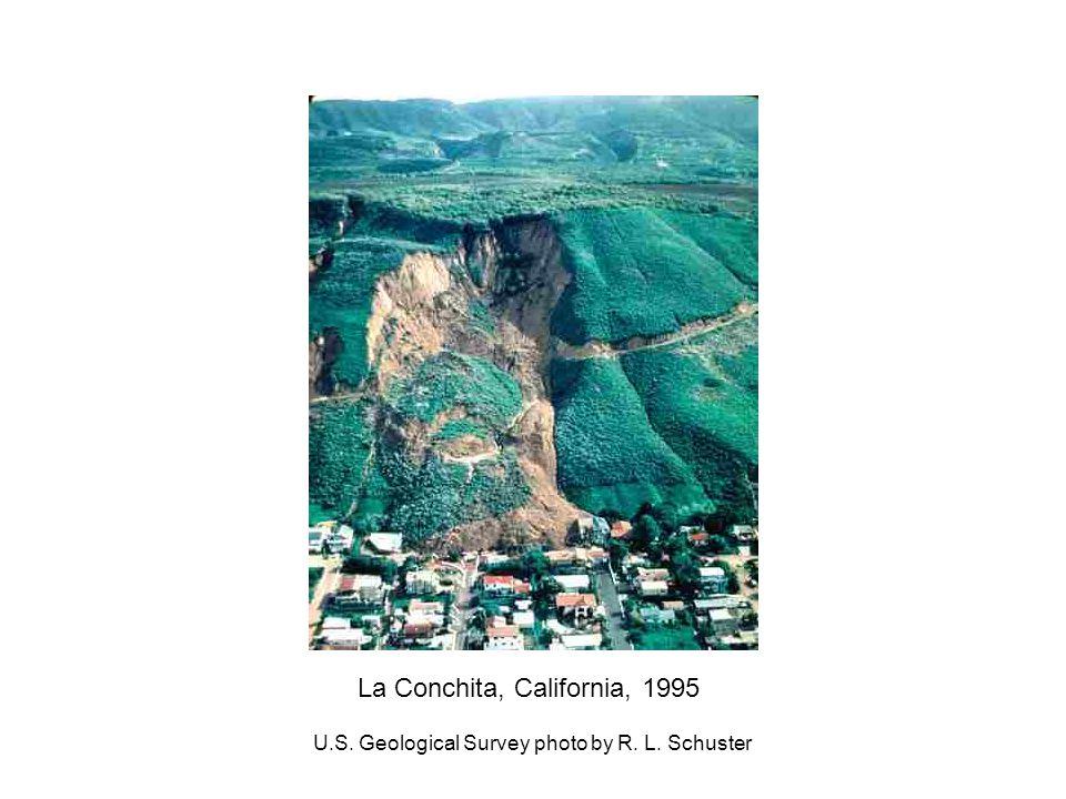 La Conchita, California, 1995 U.S. Geological Survey photo by R. L. Schuster
