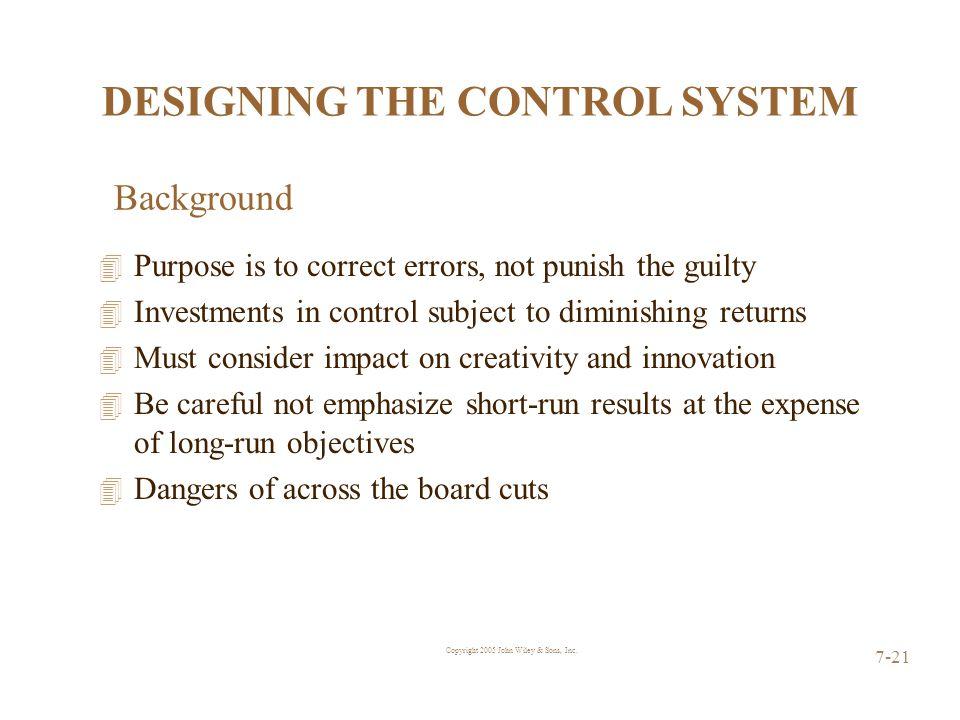 Copyright 2005 John Wiley & Sons, Inc.