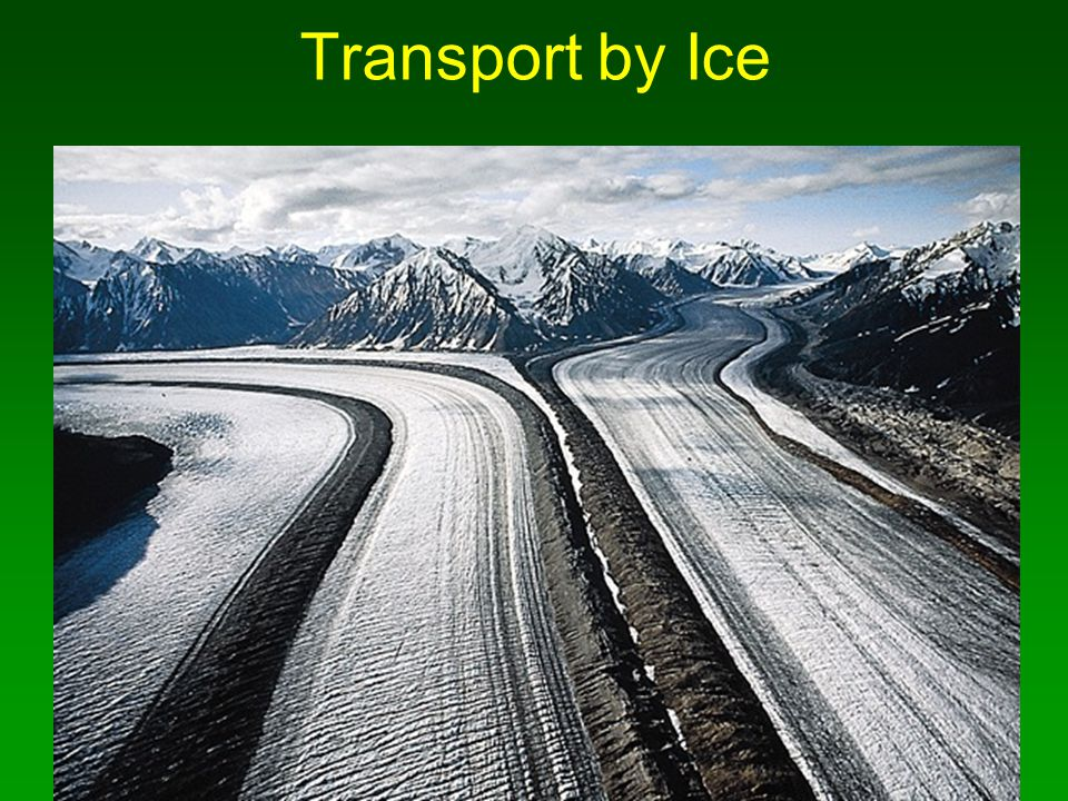 Transport by Ice