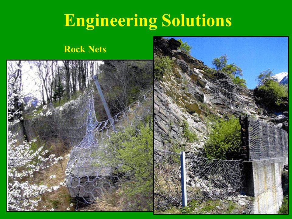 Engineering Solutions Rock Nets