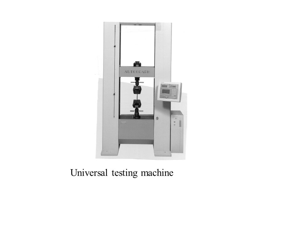 Tension Test Figure 2.2 (a) Original and final shape of a standard tensile-test specimen.
