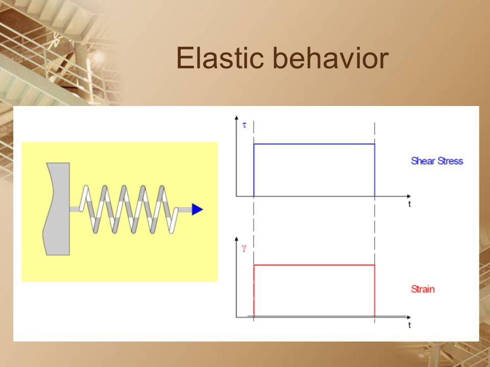 Elastic behavior