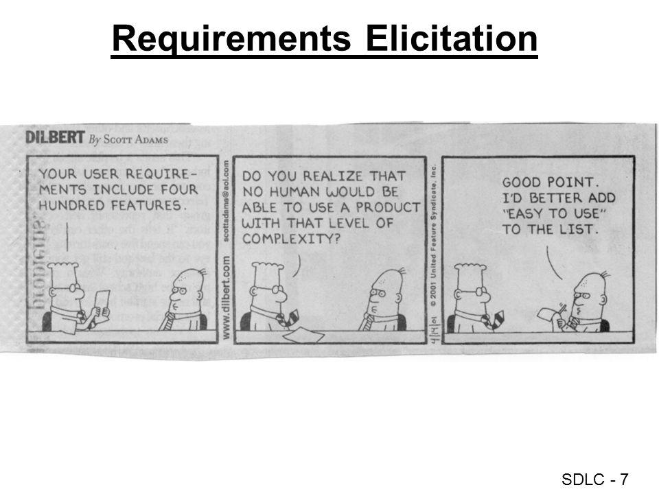 SDLC - 7 Requirements Elicitation