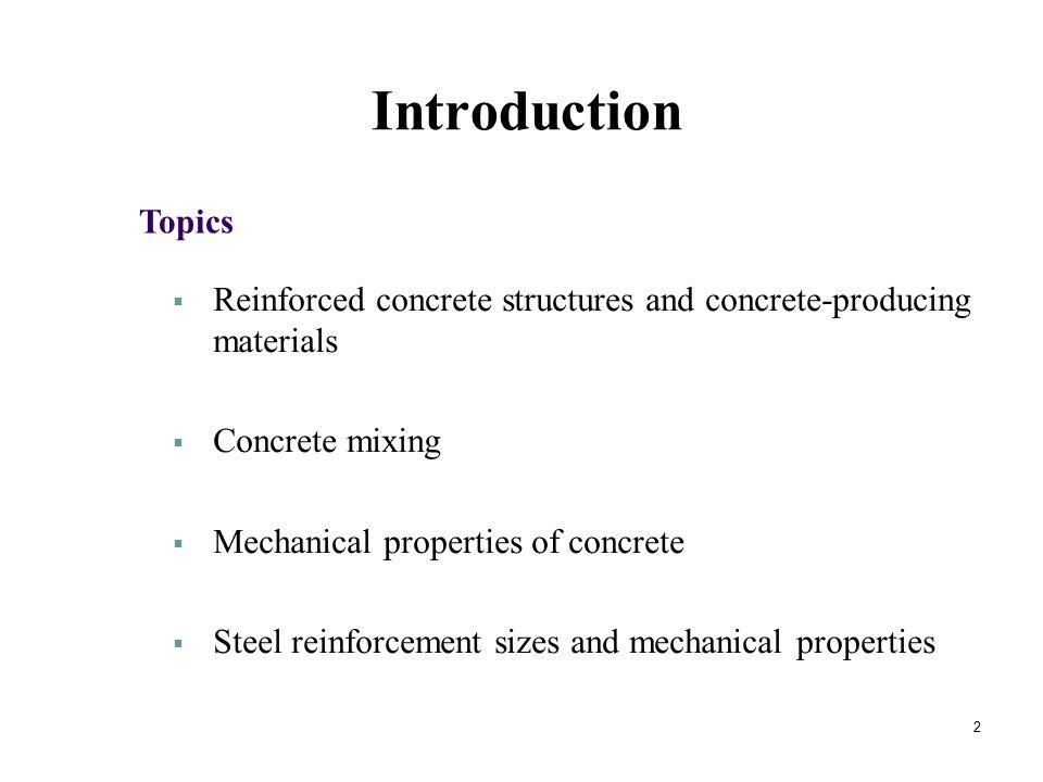 Mechanical Properties of Concrete 23