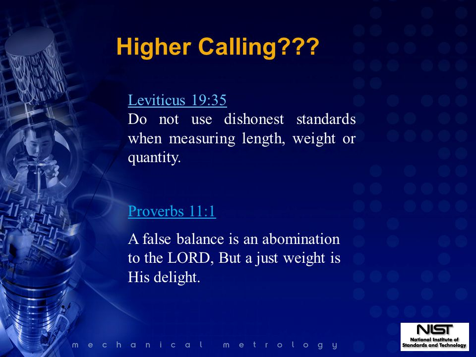 Higher Calling .