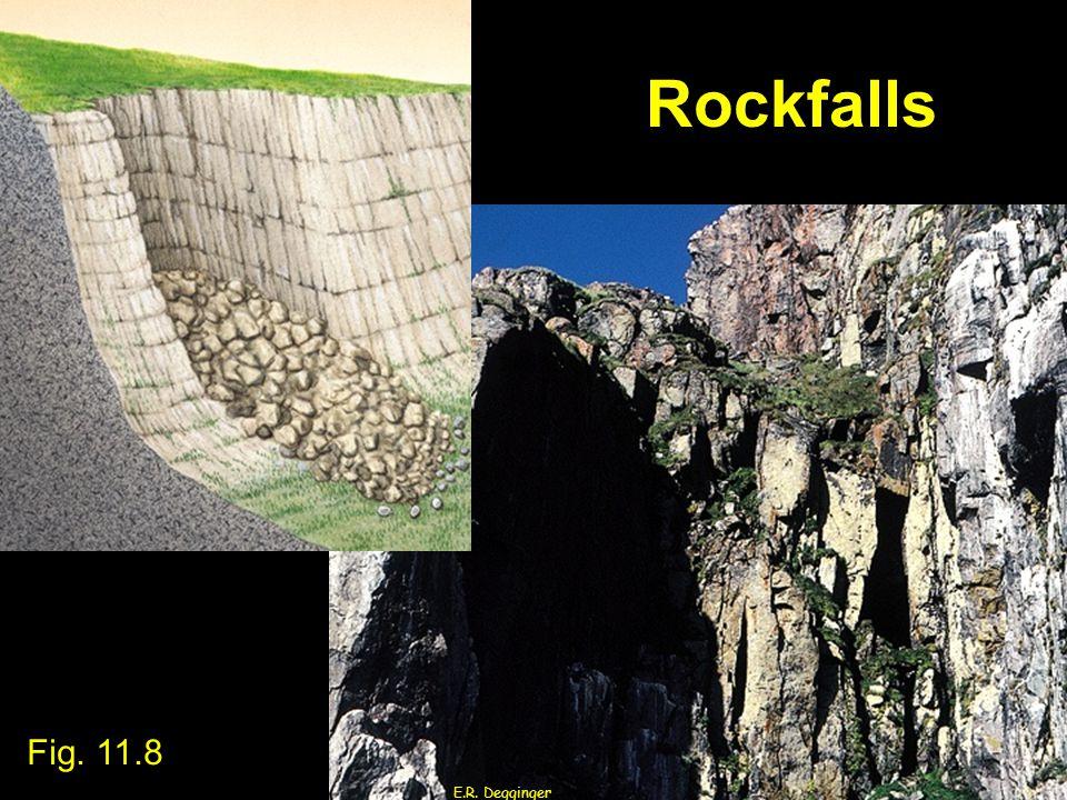 Rockfalls E.R. Degginger Fig. 11.8