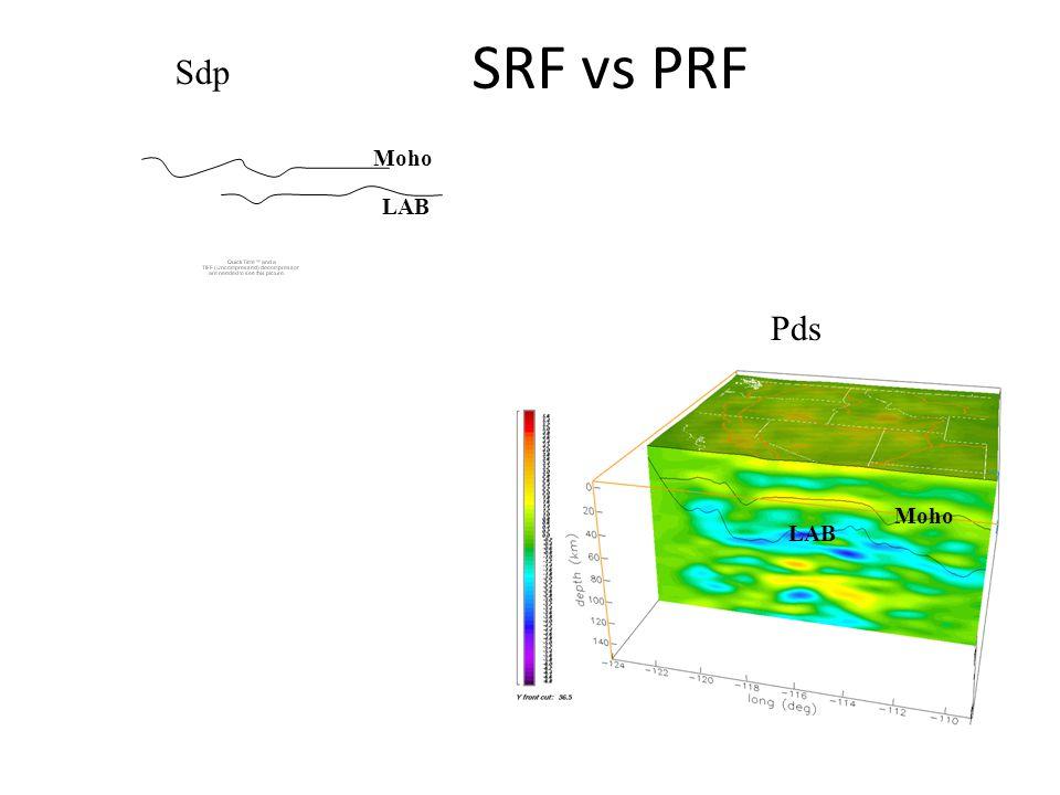 Sdp SRF vs PRF Pds Moho LAB