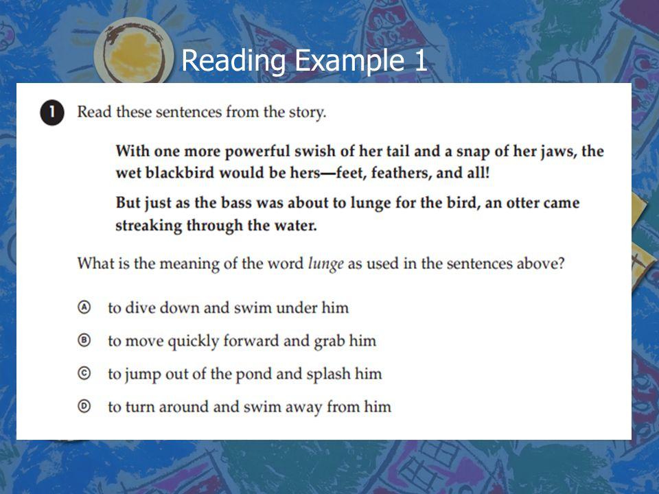 Reading Example 1