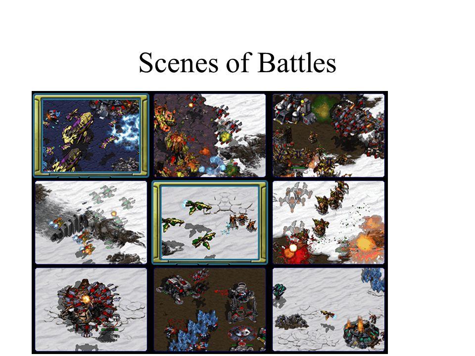 Scenes of Battles