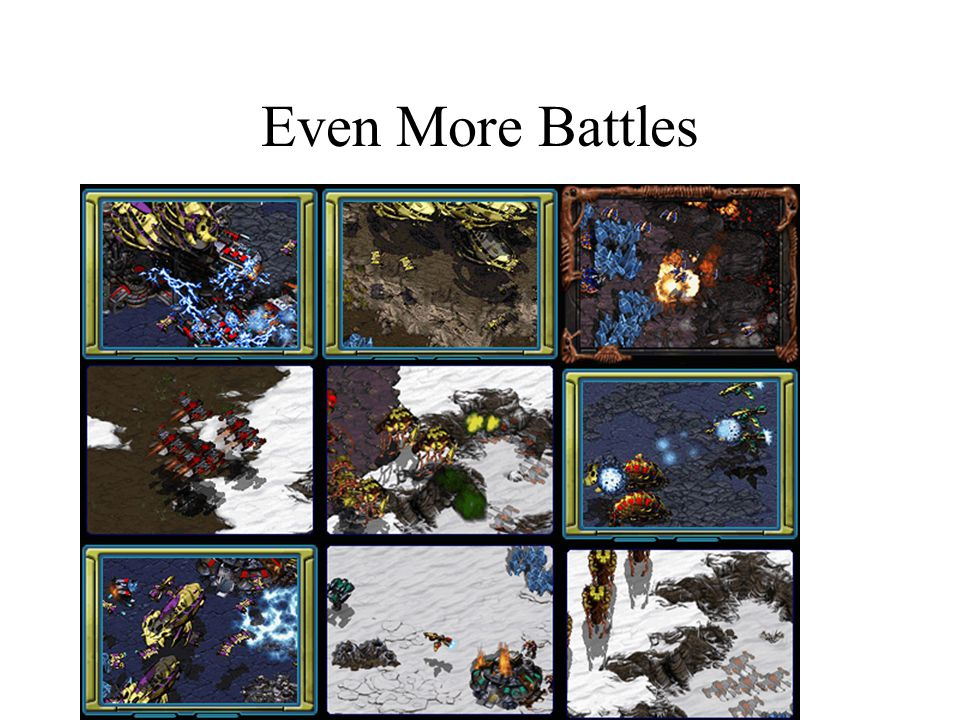 Even More Battles