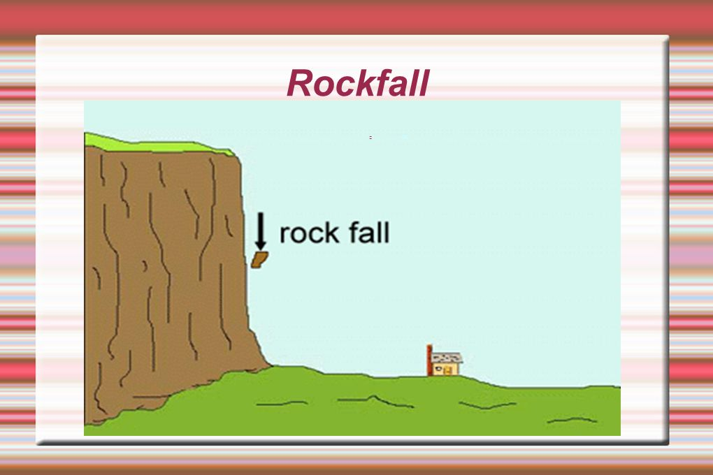 Rockfall cat
