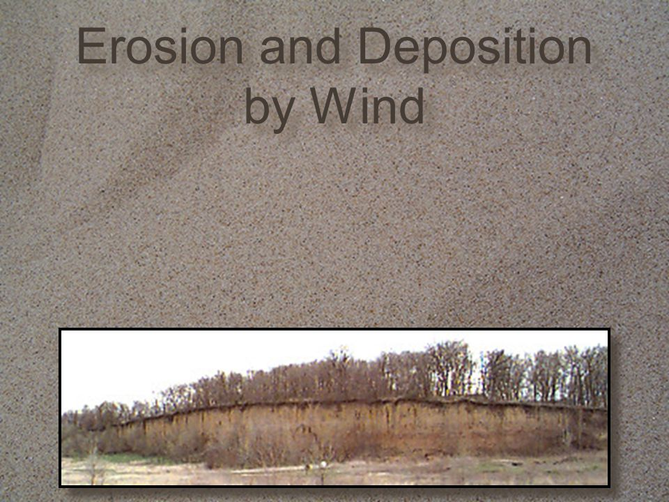 Check Understanding What are the two ways wind causes erosion.