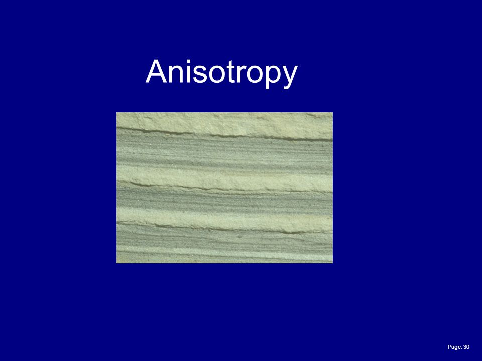 Page: 30 Anisotropy