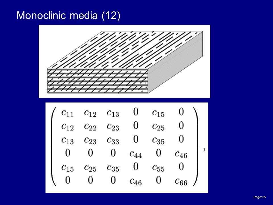 Page: 35 Monoclinic media (12)
