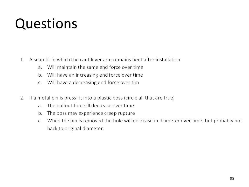 Questions 98