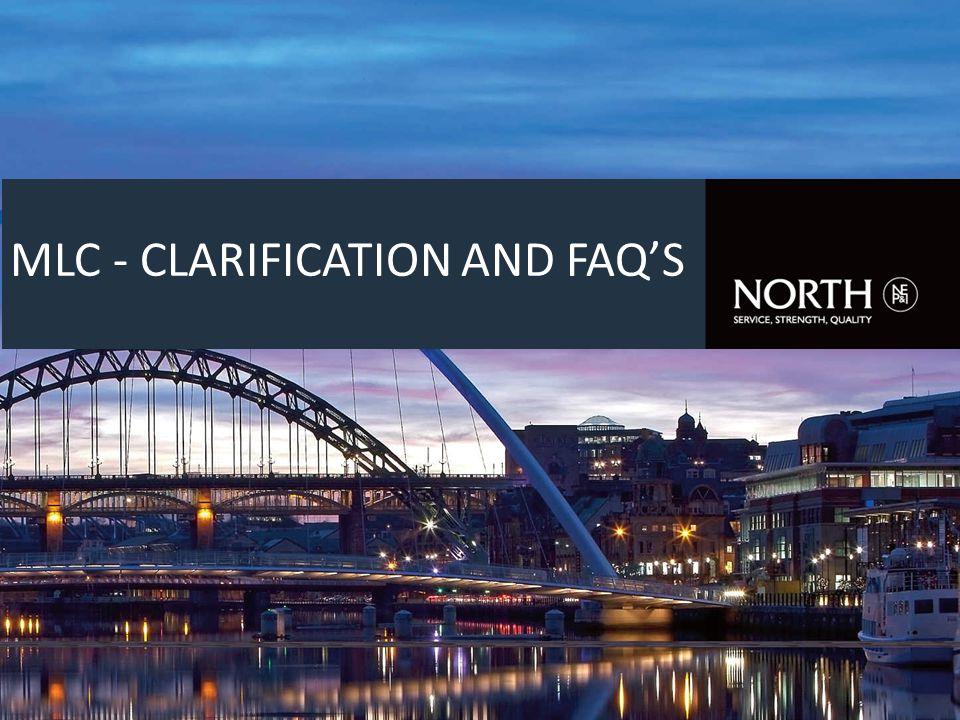 MLC - CLARIFICATION AND FAQ'S
