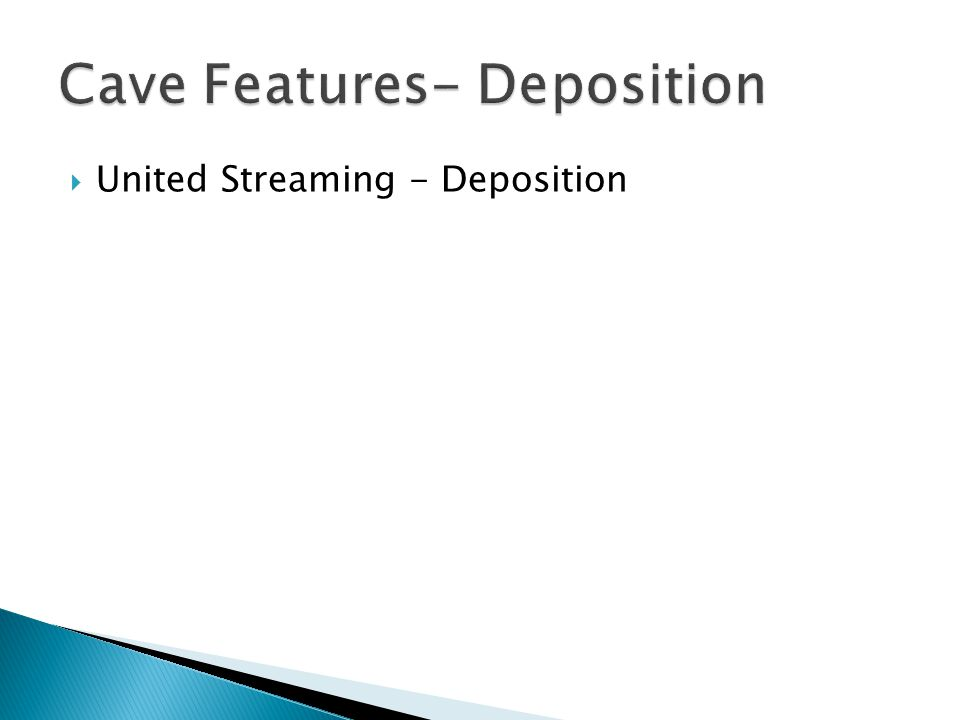  United Streaming - Deposition