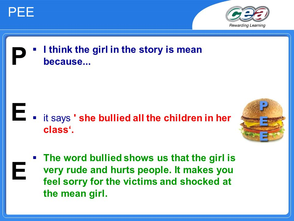  I think the girl in the story is mean because...