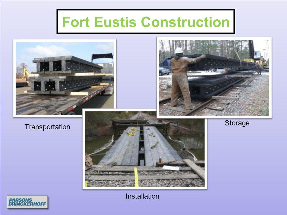 Transportation Installation Storage Fort Eustis Construction