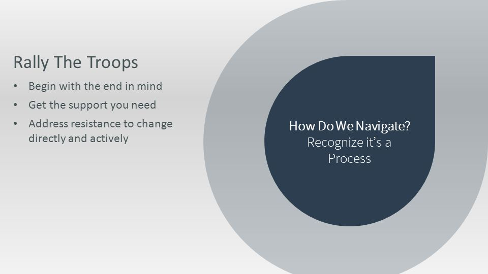 How Do We Navigate.