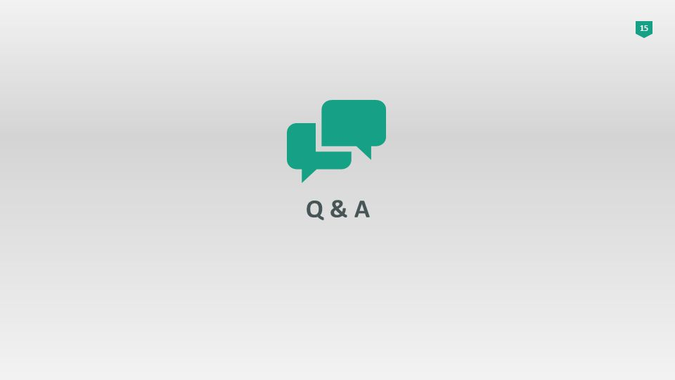 15 Q & A