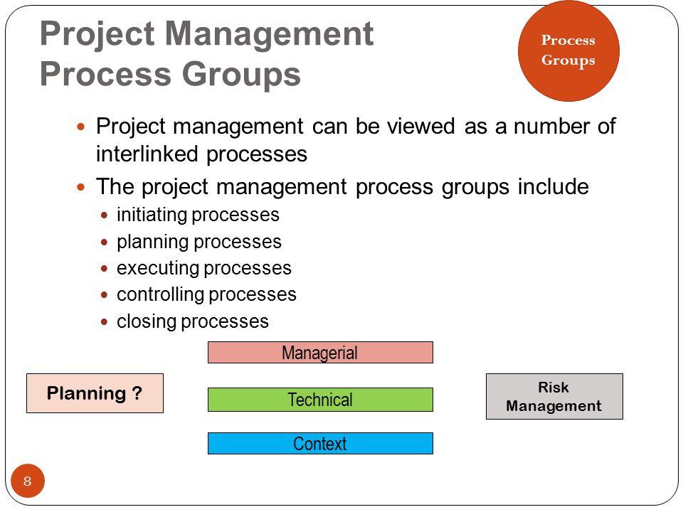 9, Process Groups