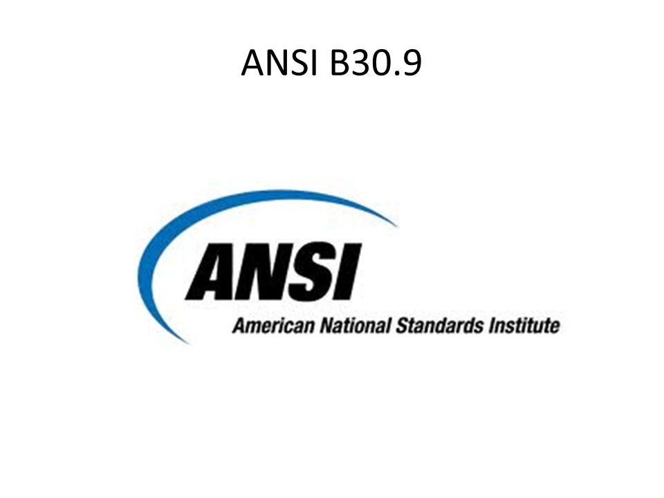 ANSI B30.9