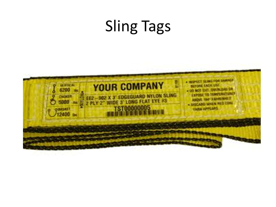 Sling Tags