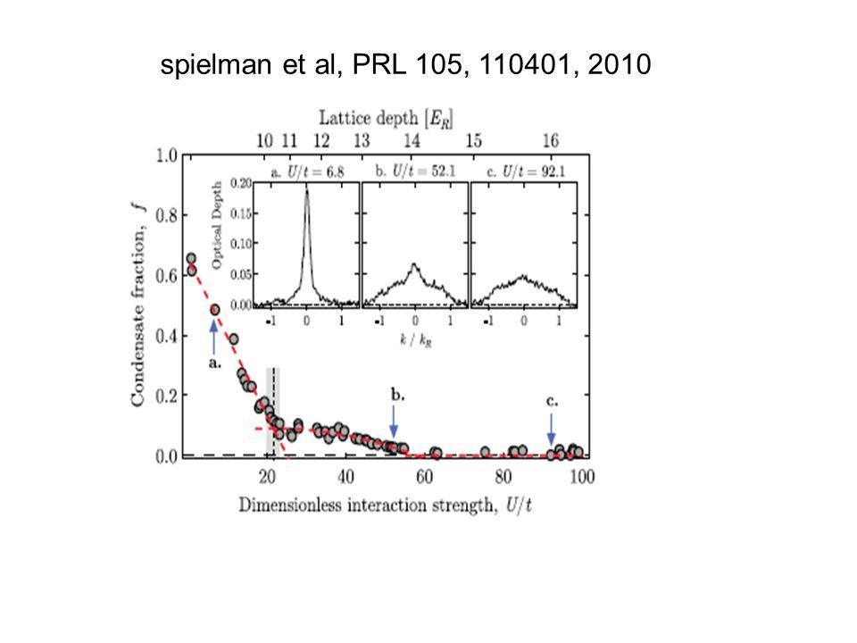 spielman et al, PRL 105, 110401, 2010