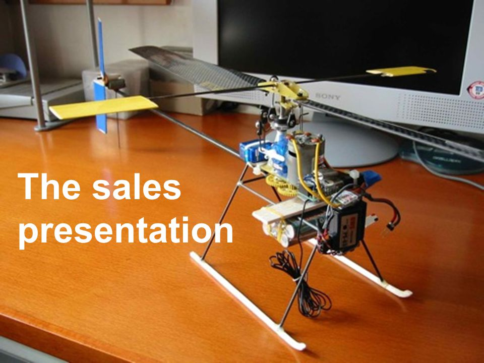 15 The sales presentation