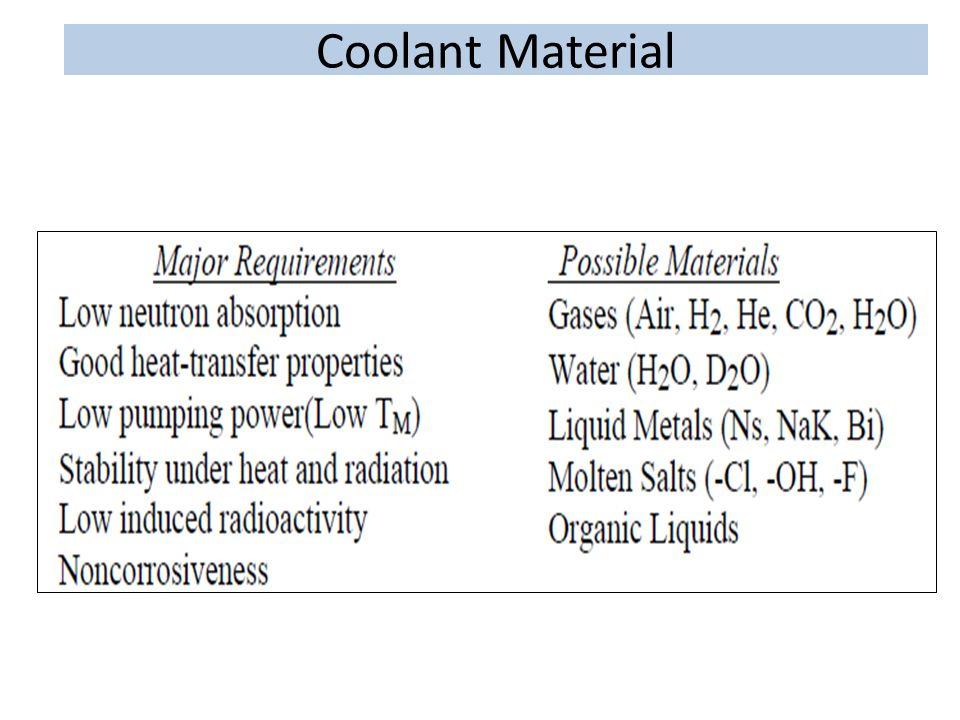 Coolant Material