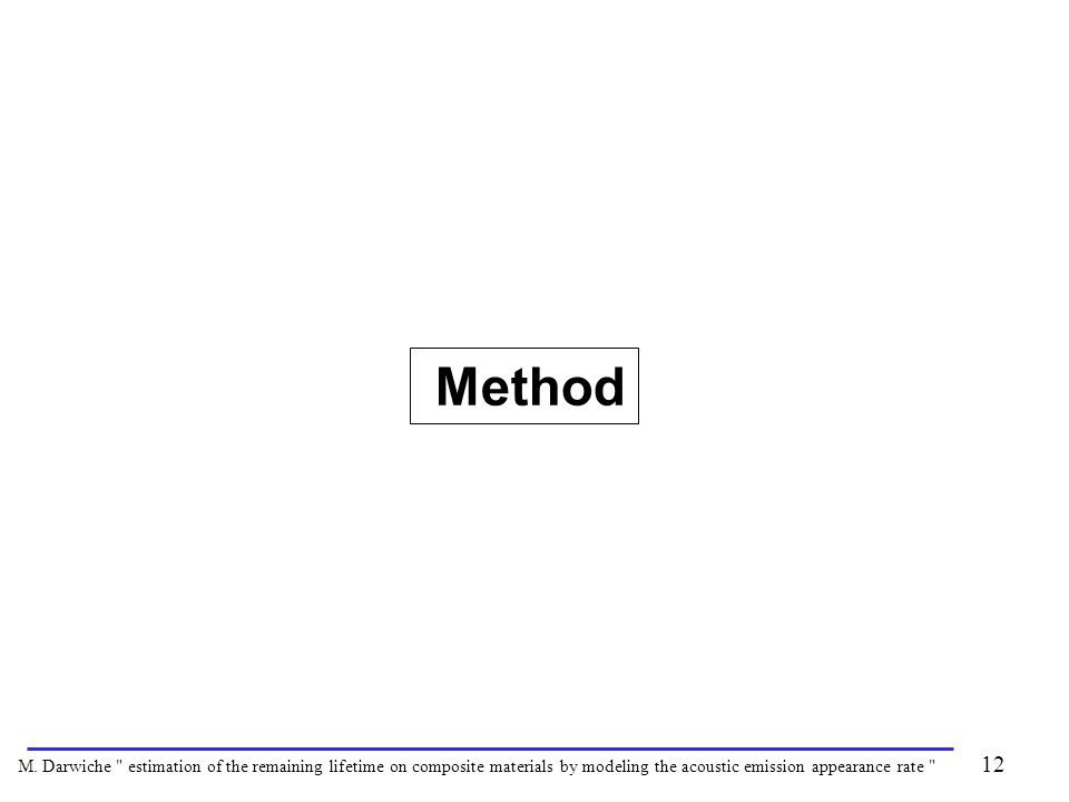Method 12 M. Darwiche
