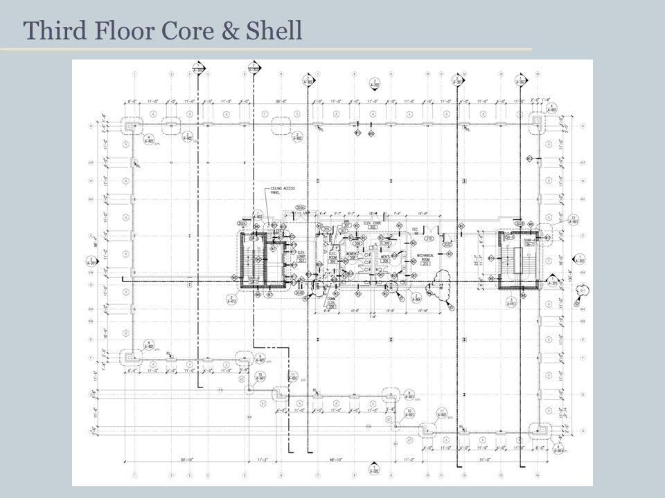 Third Floor Core & Shell