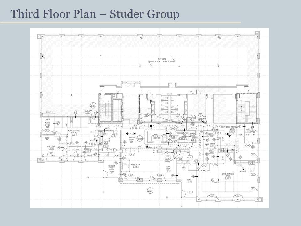 Third Floor Plan – Studer Group