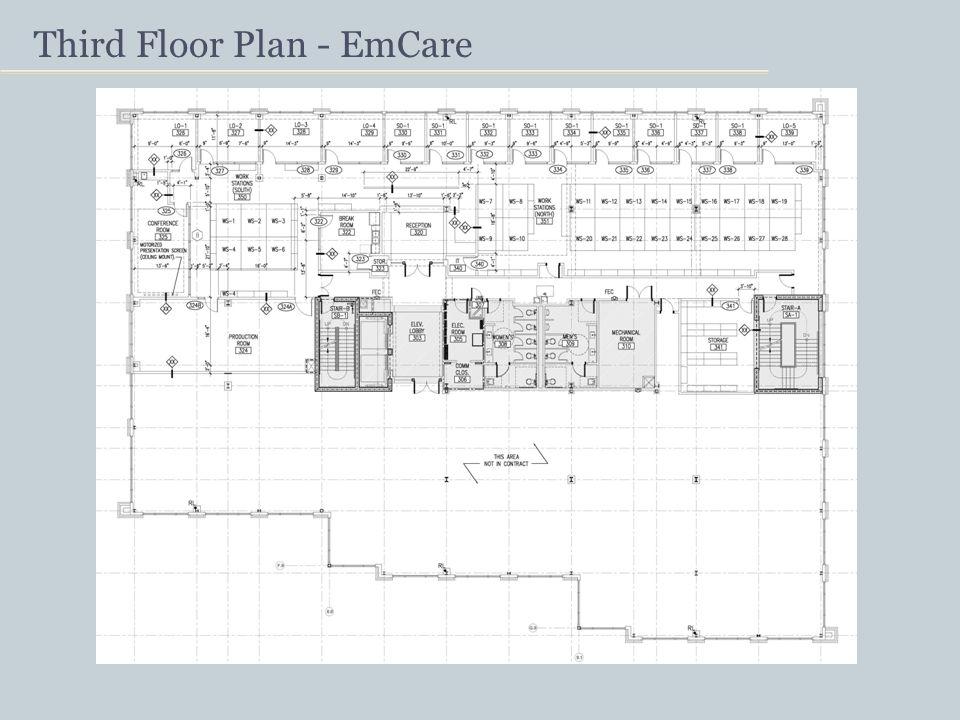 Third Floor Plan - EmCare