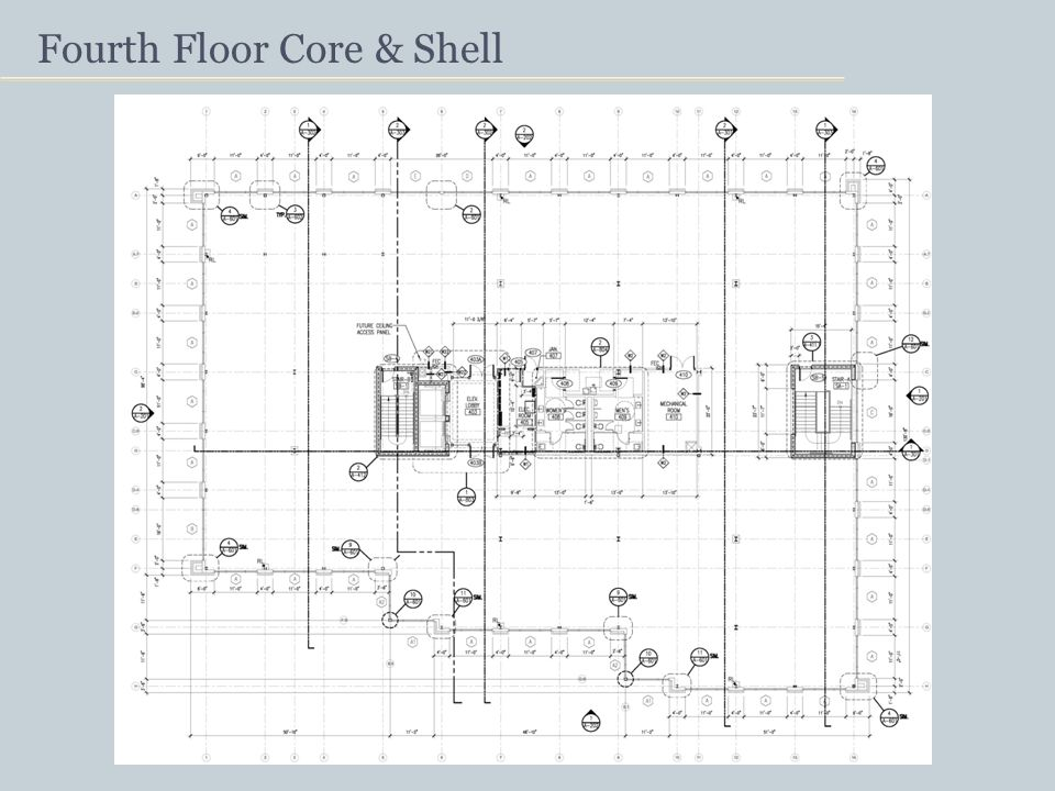 Fourth Floor Core & Shell