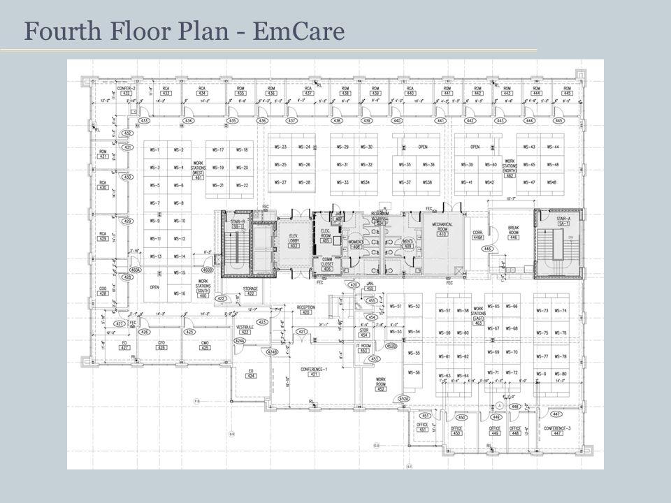 Fourth Floor Plan - EmCare
