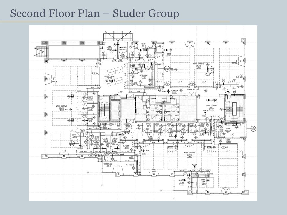 Second Floor Plan – Studer Group