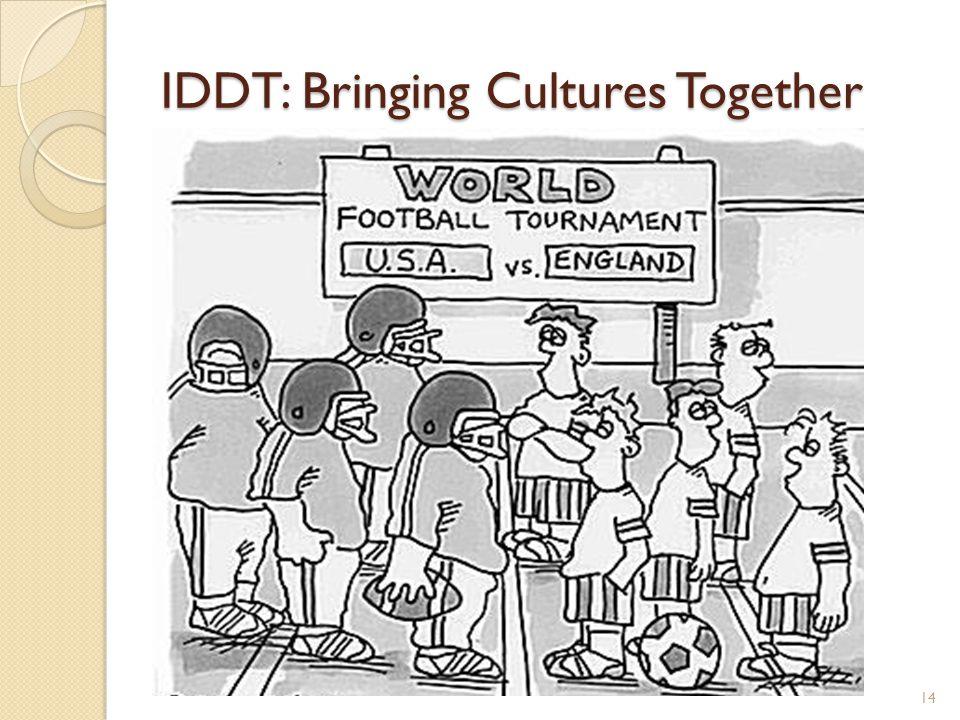 IDDT: Bringing Cultures Together 14