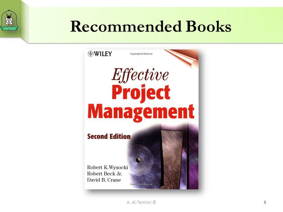 Recommended Books A. Al-Tamimi ©8