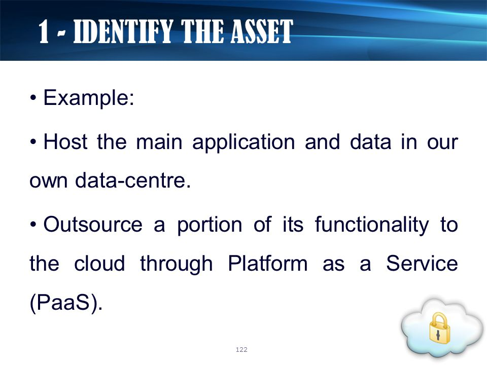 Example: Host the main application and data in our own data-centre. Outsource a portion of its functionality to the cloud through Platform as a Servic