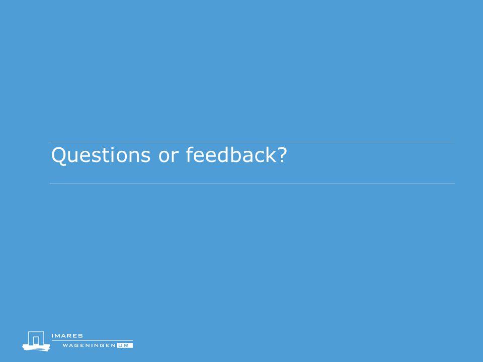 Questions or feedback?