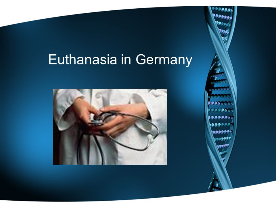 Euthanasia in Germany